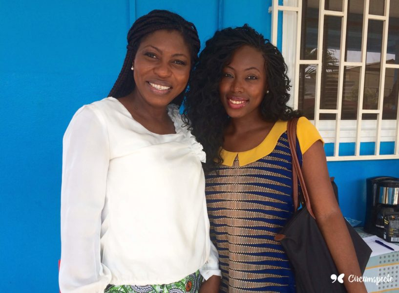 Juliet Amoah and Jemila Abdulai Mentorship