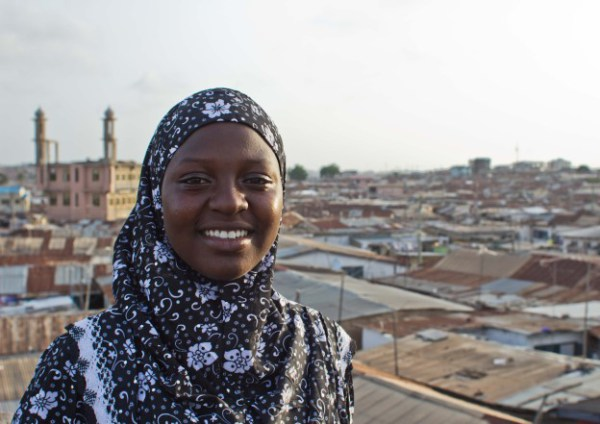 Amina Ismail Daru started Achievers Ghana to help girls in Ghana's slums