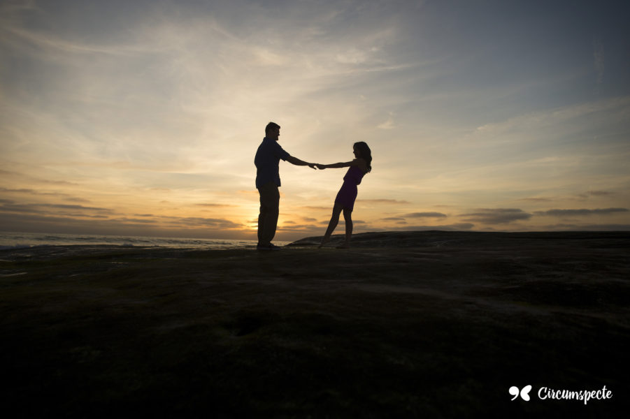 Father and daughter watch the sunset. Father daughter relationships are important to a woman's growth.