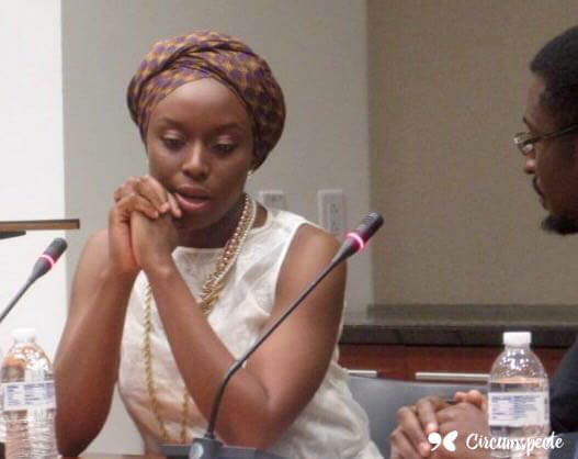 Chimamanda Ngozi Adichie, Author of The Thing Around Your Neck, Americanah and Half of A Yellow Sun