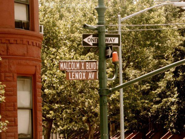 Black Lives Matter. The Malcolm X Avenue in New York. Credit: Circumspecte.com