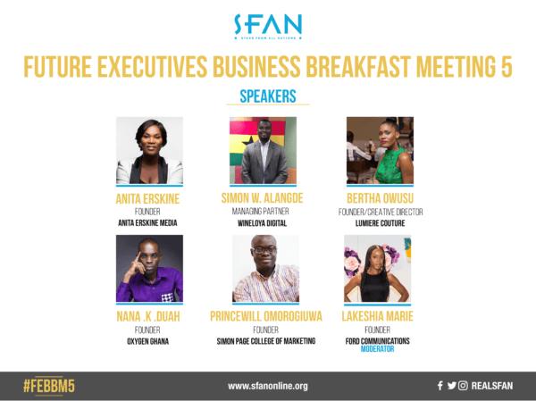 Sfan breakfast meeting speakers