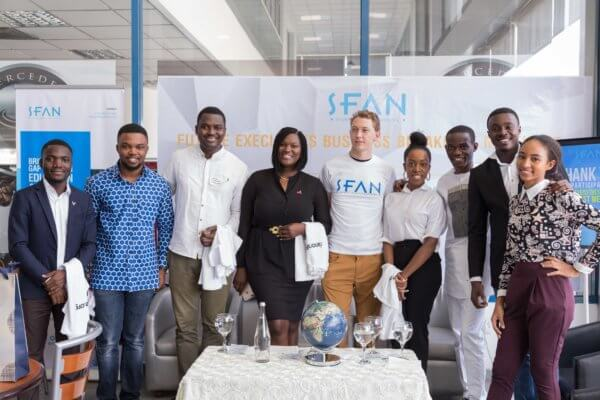 Panelists and SFAN team at the Future Executives Business Breakfast Meeting on Digital Marketing